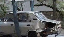 Traian Basescu a lovit o masina a SRI