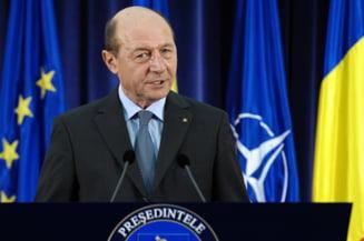 Traian Basescu cere sa nu fie implicat in disputele din interiorul USL (Video)