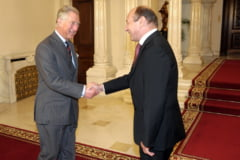 Traian Basescu il primeste pe printul Charles, luni, la Cotroceni (Video)