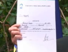 Traian Basescu inscris PMP