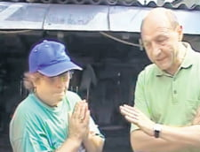 Traian Basescu inundatii