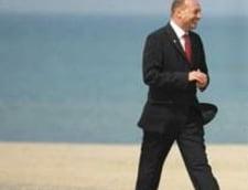 Traian Basescu isi petrece weekendul la Neptun
