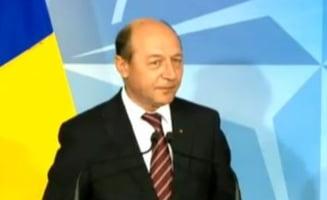 Traian Basescu la NATO: Securitatea nu se face cadou