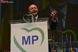 Traian Basescu nu isi poate inregistra partidul - decizie definitiva a instantei