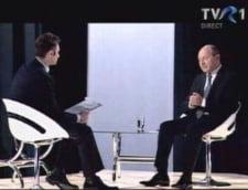Traian Basescu nu mai face audienta, la TV