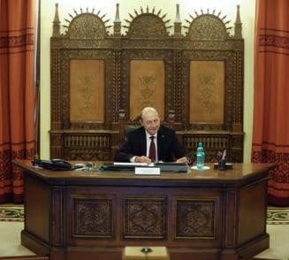Traian Basescu nu merge in Parlament