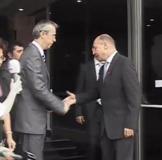 Traian Basescu se intalneste cu primarii din Bucuresti