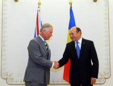 Traian Basescu se intalneste sambata la Cotroceni cu Printul Charles (Video)