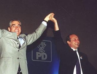 Traian Basescu si Petre Roman s-ar putea confrunta in fata romanilor din Spania