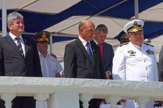 Traian Basescu va lipsi de la Ziua Marinei Romane