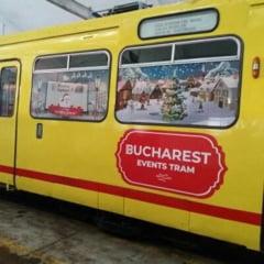 Tramvaiul lui Mos Craciun va circula duminica prin Bucuresti
