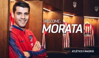 Transfer de zile mari in Spania: Atletico Madrid l-a luat pe Morata de la Chelsea