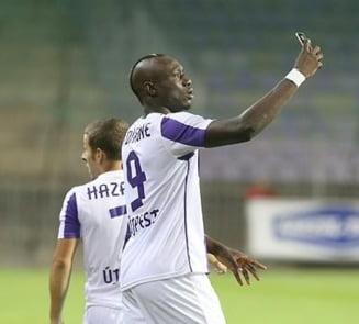 Transfer neasteptat la Steaua: Becali si Reghecampf au pus ochii pe un african care face furori in Ungaria