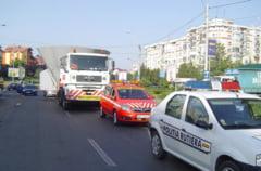 Transport agabaritic pe soselele Constantei