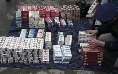Transporta 20 000 de tigarete fara timbre de acciza