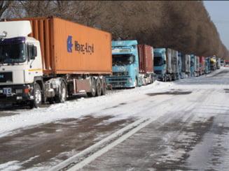 Transportatorii, in pierdere din cauza vremii nefavorabile