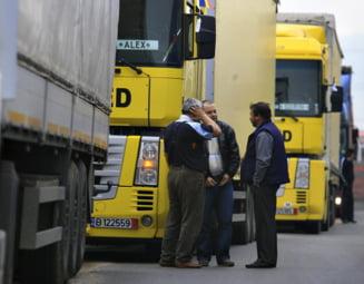 Transportatorii protesteaza din nou. Ce solicita Guvernului