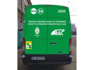 Traseul de autobuz 54 a fost prelungit, la cererea iesenilor