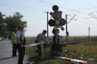 Treceri la nivel cu calea ferata din judetul Neamt, modernizate cu bani europeni