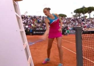 Trecutul controversat al arbitrei meciului Mihaelei Buzarnescu: Karolina Pliskova a vrut s-o loveasca de curand