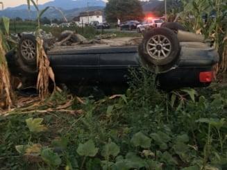 Trei accidente grave de masina la inceputul minvacantei de Sfanta Maria