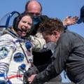 Trei astronauti s-au intors din misiunea de pe Statia Spatiala Internationala