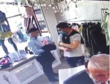 Trei barbati au fost retinuti dupa ce au furat o geanta scumpa si sandale din magazine de lux din Dorobanti