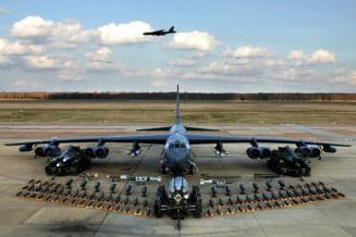 Trei bombardiere americane B-52H au zburat din nou prin spatiul aerian ucrainean