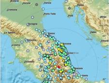 Trei cutremure au avut loc intr-o singura ora in Italia: Metroul si mai multe scoli au fost evacuate