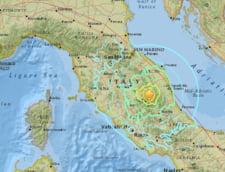 Trei cutremure in 4 ore in Italia: Un mort si mai multi raniti. De frica, oamenii si-au petrecut noaptea in strada (Video)