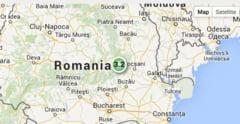 Trei cutremure in cinci ore in zona Vrancea