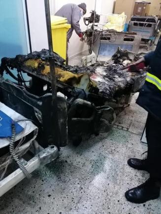 Trei dintre pacientii transferati de la Neamt la Spitalul din Letcani, in stare foarte grava