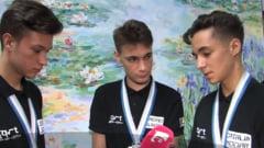 Trei elevi din Oradea, premiati la cea mai importanta competitie de robotica din lume