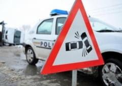 Trei masini implicate intr-un accident petrecut pe strada Cernauti din Suceava