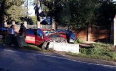 Trei masini tamponate la Pestisani. O victima!