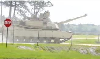 Trei militari americani au murit intr-un accident de tanc, in cursul unor exercitii