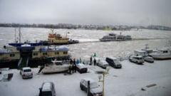 Trei nave scufundate in portul Tulcea