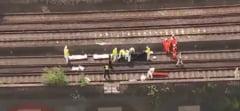 Trei oameni au murit dupa ce au fost loviti de un tren, la Londra