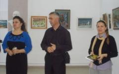 Trei pictori, ucenici ai maestrului Nicolae Truta, in expozitie-omagiu