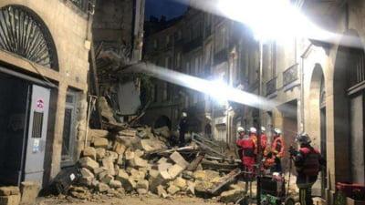 Trei raniti, intre care unul foarte grav, dupa ce doua cladiri din Bordeaux s-au prabusit