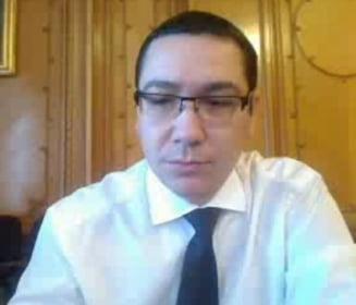 Trei raspunsuri si trei solicitari pentru Victor Ponta