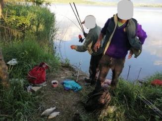 Trei salajeni, sanctionati pentru pescuit in timp de prohibitie