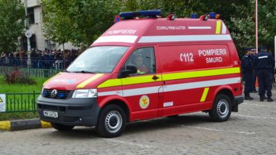 Trei tineri au fost gasiti inconstienti pe strada in centrul Sibiului