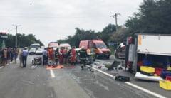 Trei tineri raniti grav intr-un accident, pe drumul spre Costinesti