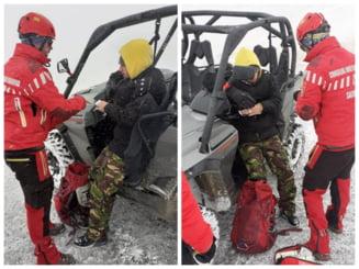 Trei tineri s-au plictisit pe munte si au sunat la 112, dupa care i-au injurat pe salvamontisti ca au intarziat