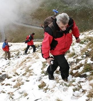 Trei turisti unguri, blocati pe un perete muntos din Bucegi