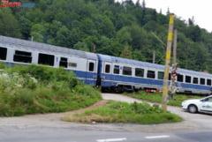 Trenurile circula azi si mai incet decat de obicei