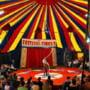 Tribuna prabusita la circ in Vaslui - Organizatorii dau vina pe copii: Au sarit un pic