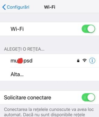 """Tribunalul Bucuresti ii explica avocatei lui Dragnea ca reteaua wi-fi """"M...e PSD"""" poate fi creata de oricine are un smartphone"""