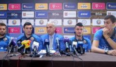 Tricolorii au inceput pregatirea pentru meciurile cu Ungaria si Grecia